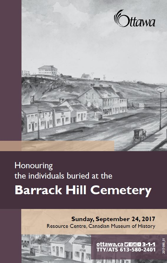 Barrack Hill Cemetery Brochure 2017