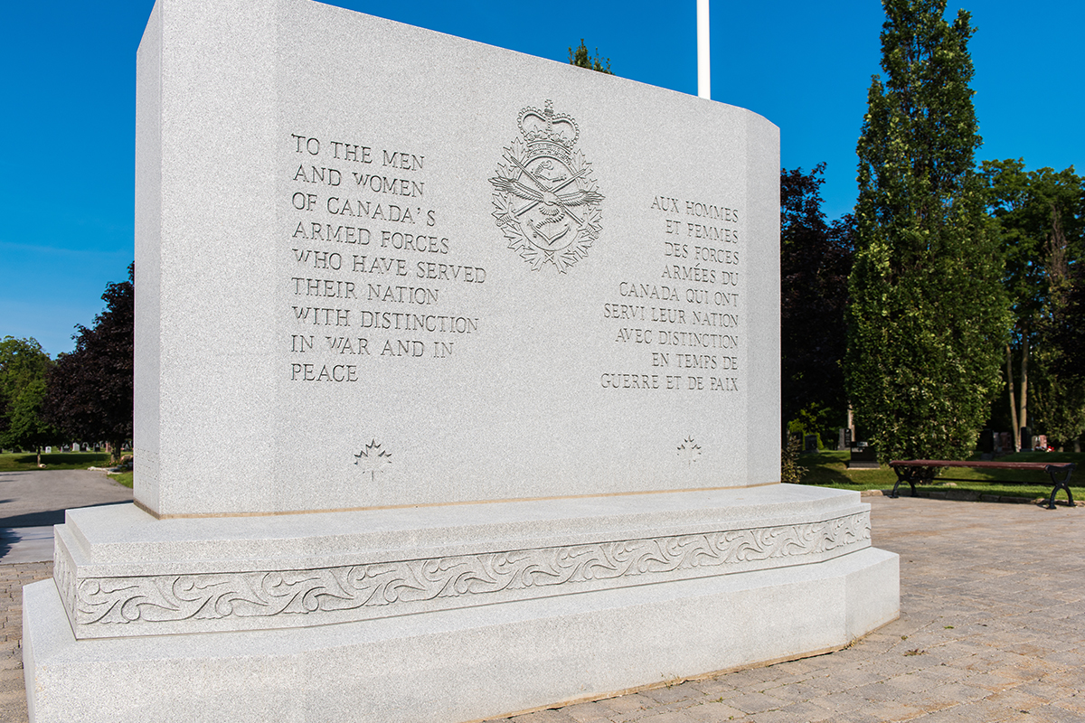 National Military Cemetery Monument