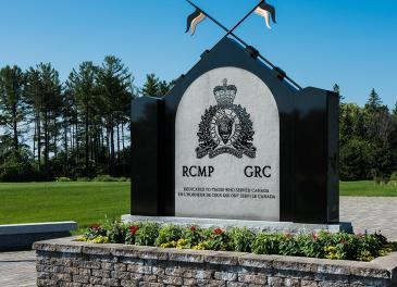 The RCMP National Memorial Cemetery